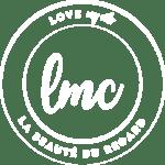 logo love my cils blanc